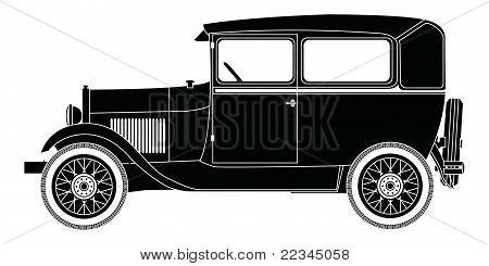 CUTOUT 1929 FORD MODEL