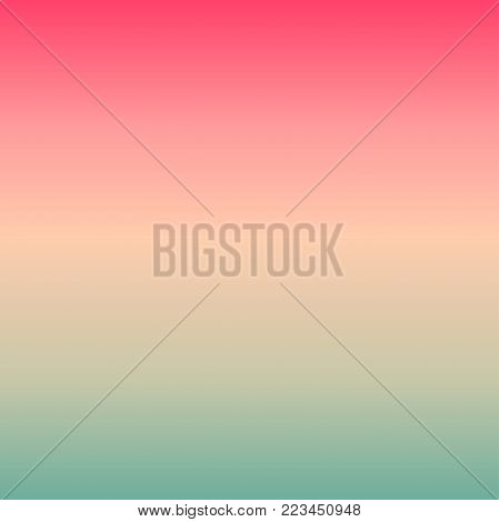 Pink mint smooth gradient transition background in pastel shades.