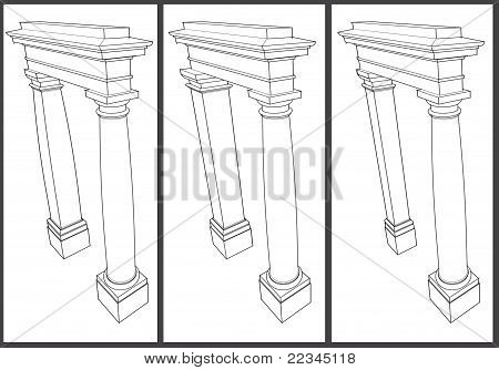 Sketch Pilaster Column