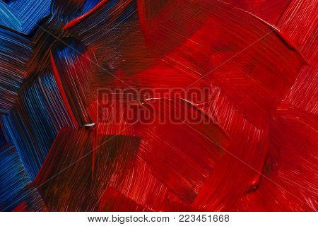 Abstract art backgrounds. Hand-painted background. SELF MADE. Abstract acrylic painted background