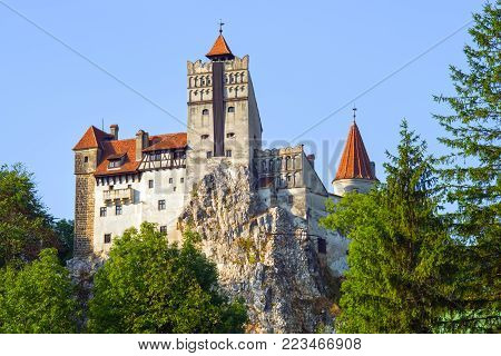 Mysterious place in Transylvania: Dracula's Land, Bran Castle. It was build in 14th century by  Saxons of Kronstadt.