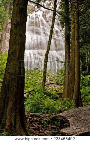 Bridal Veil Falls near Chilliwack, BC, Canada