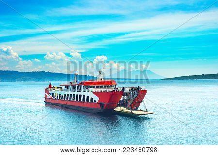 Yacht On Ohrid Lake, Macedonia