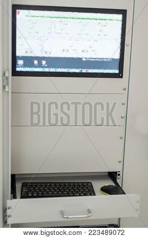Relay Protection System. Bay Control Unit. Medium Voltage Switchgear