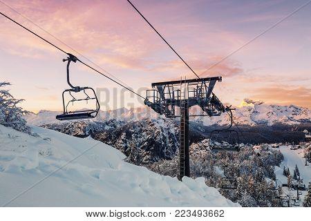 Ski Center Of Vogel Julian Alps, Slovenia