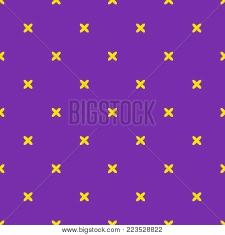 Mardi Gras carnival party vector seamless pattern background masquerade celebration festival poster design holiday purple brochure. Venetian mardi gras mask fleur de lis party decorations.