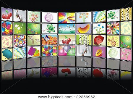 Vector screens