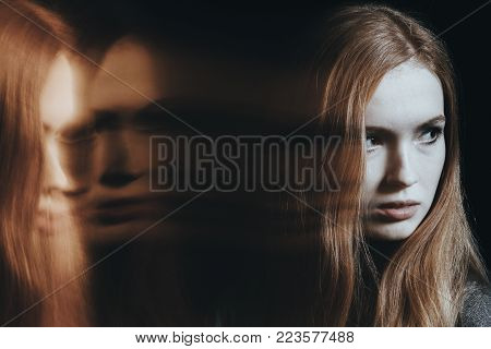 Young Girl With Bipolar Disorder