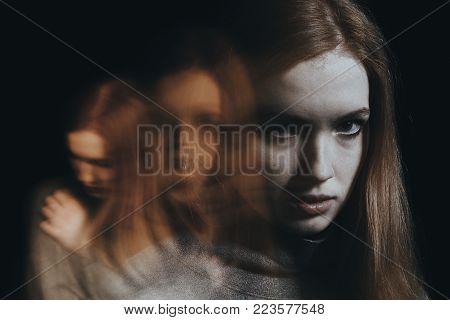 Young Girl With Bipolar Disorder