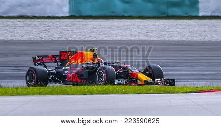 Max Verstappen Of Red Bull Racing