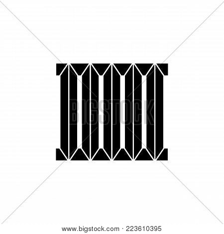 heating radiator. Elements of heating system Icon. Premium quality graphic design. Signs, outline symbols collection, simple icon for websites, web design, mobile app on white background