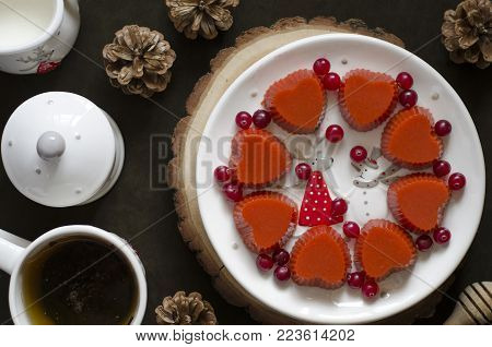 Fruit Jelly On Cranberry Orange And Agar