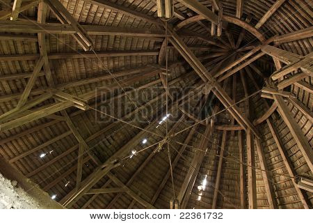 Structure Of Fortress Roof