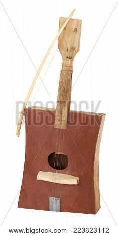 Handmade African guitar
