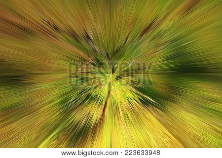 green abstract background with sharp and transparent thorns