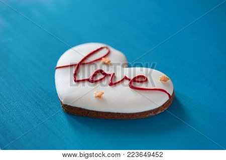 big heart with love on wooden background. Mother's Day, Happy birthday , Women's Day. St. Valentines Day