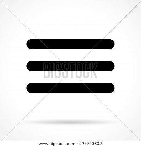 Illustration of expand icon on white background