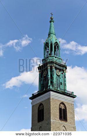 Church Of Mary In Berlin