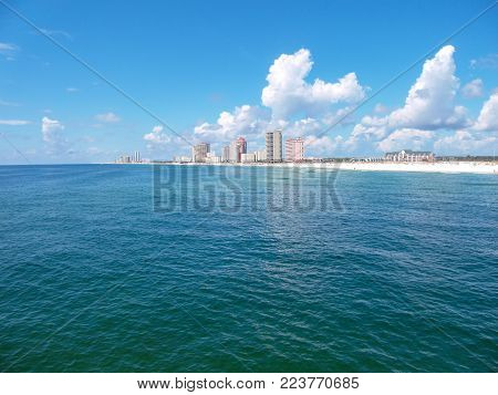 Orange Beach, Alabama on the Gulf Coast