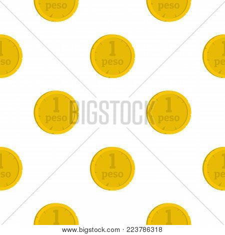 Peso pattern seamless for any design vector illustration