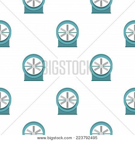 Metal electric fan pattern seamless for any design vector illustration