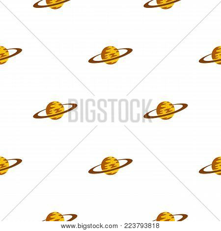 Saturn pattern seamless for any design vector illustration