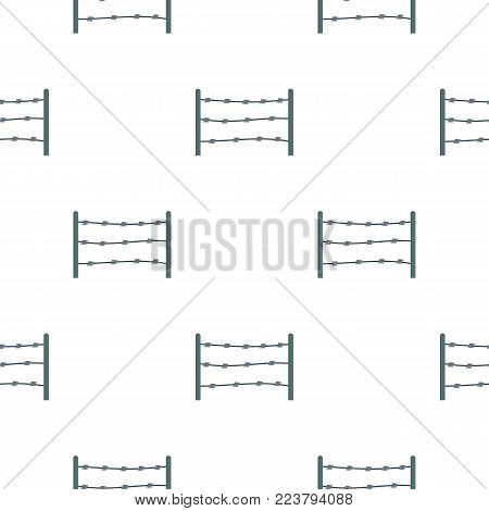 Restricted area pattern seamless for any design vector illustration