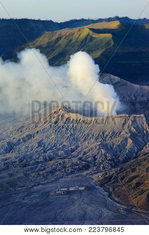 Bromo, Famous vocalno in the East Java, Indonesia