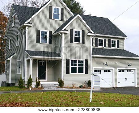 New built single family house for sale