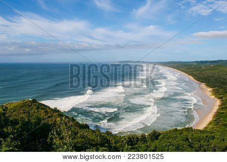 Landscape of Byron Bay, New South Wales, Australia
