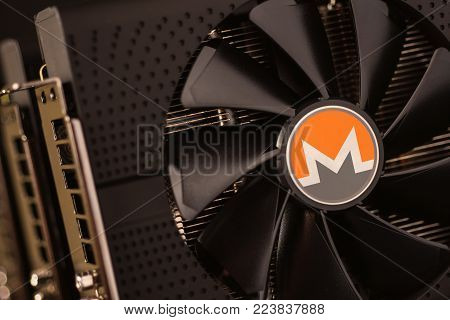 Monero Cryptocurrency Coin Mining Using Graphic Cards