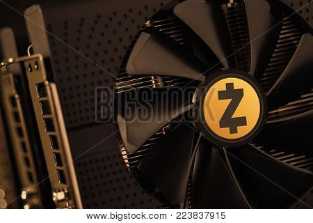 Zcash Cryptocurrency Coin Mining Using Graphic Cards
