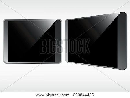 tablet phone blank screen technology with three dimension effect