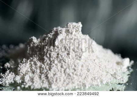 This is Calcium hydroxide as a powder