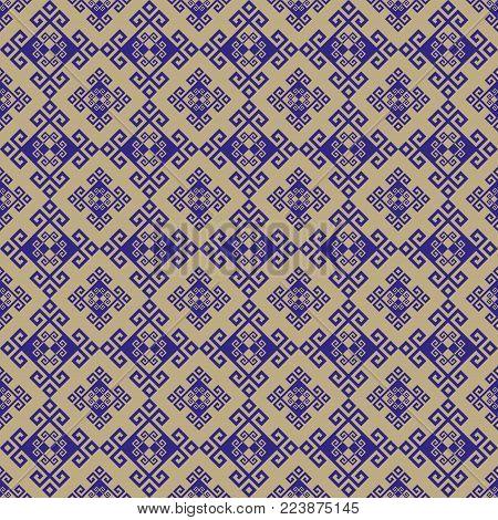 Vector background pattern greek style. Geometric illustration.