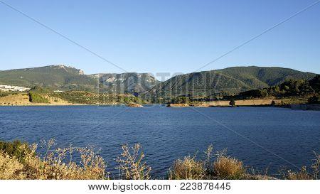 Pantano de Siles  pueblo de la Sierra de Segura