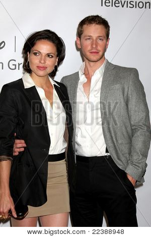 LOS ANGELES - AUG 7:  Lana Parrilla, Josh Dallas at the Disney/ABC Television Group Summer Press Tour at the Beverly Hilton Hotel on August 7, 2011 in Beverly Hills, CA