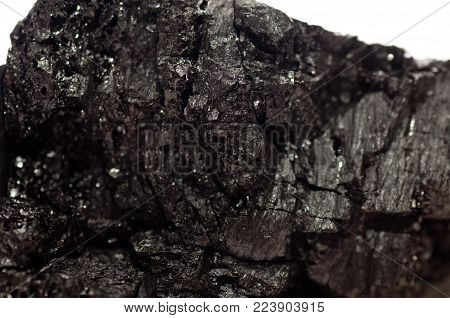 coal, brittle anthracite shale sample mineral for power production