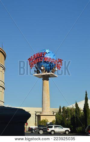 Planet Hollywood Hotel On The Las Vegas Strip. Travel Vacation June 26, 2017. Las Vegas Strip, Las Vegas Nevada USA EEUU.