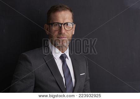 Confident Mature Man Portrait