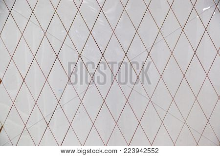 Pattern With A Texture Rhythm From Stone Plates