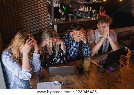 emotion stress problem frustration despair failure concept