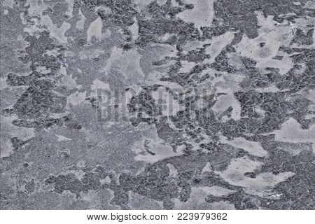 dried resin on a concrete slab, texture