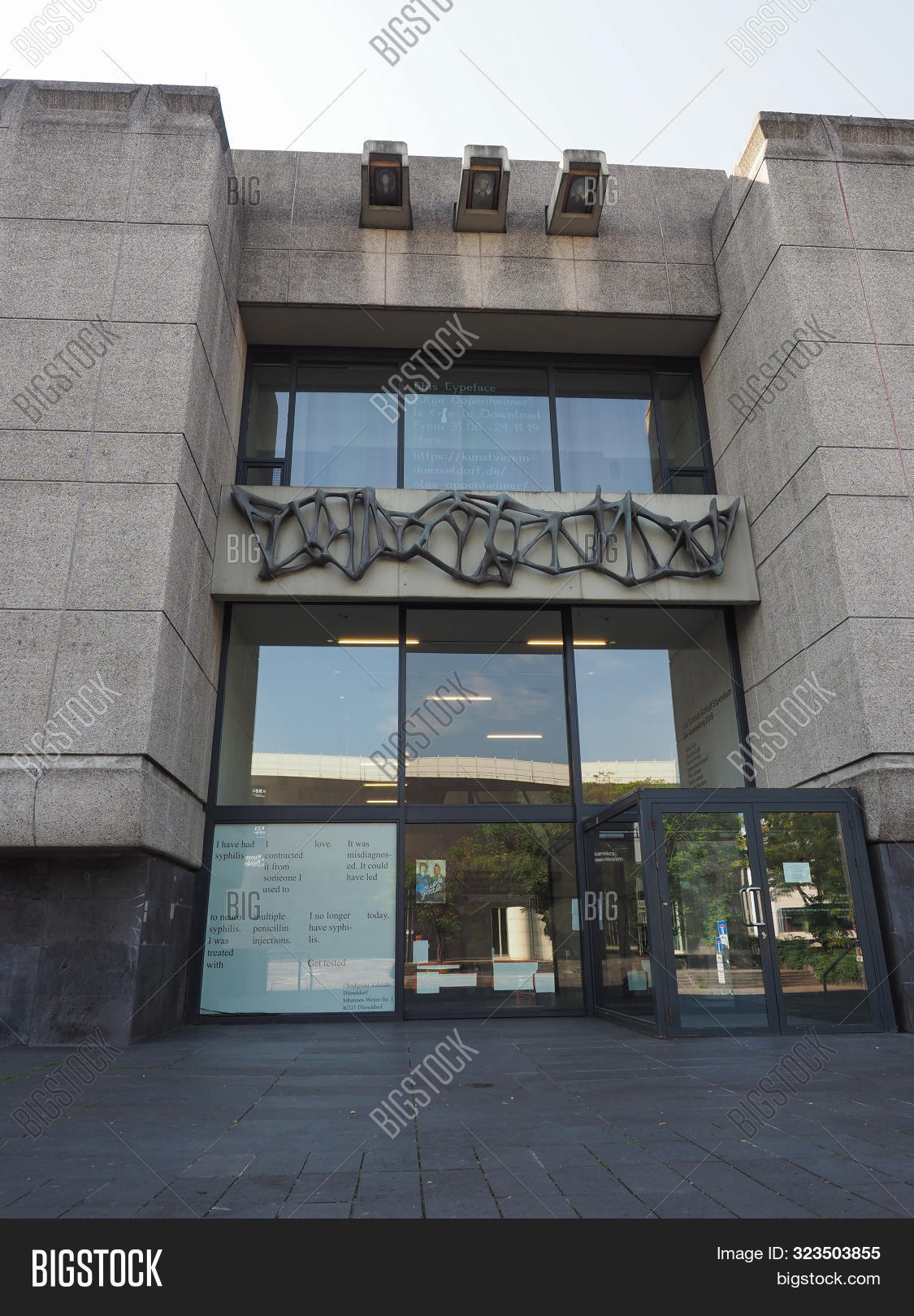 Kunsthalle Duesseldorf Image Photo Free Trial Bigstock