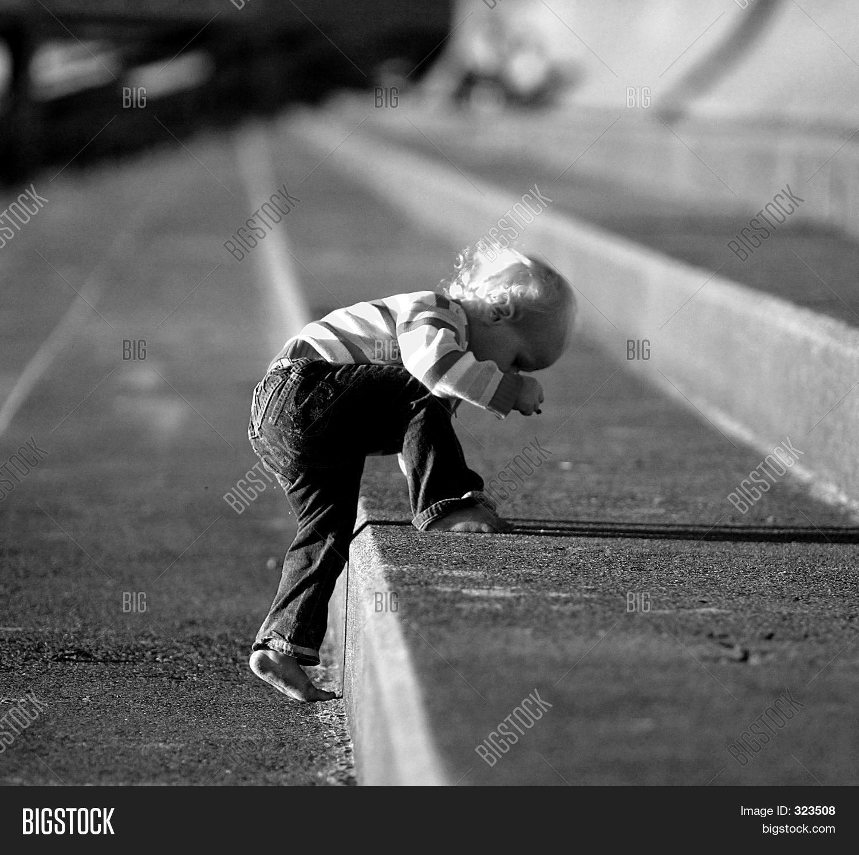 child climbing steps image photo free trial bigstock
