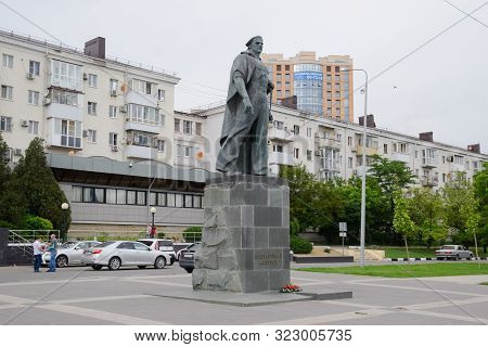 Novorossiysk, Russia - May 20, 2018: Monument To The Unknown Sailor In The City Of Novorossiysk