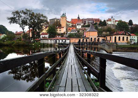 Panorama Of Loket. Czech Republic