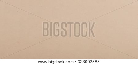 Close-up Of Brown Cardboard Texture Background. Stock Photos.