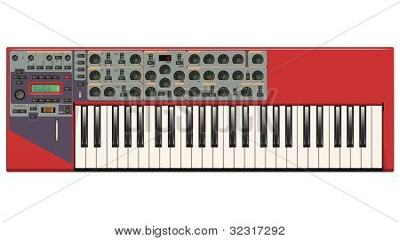 Red Synthesizer
