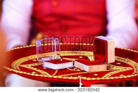 Rings For Wedding Ceremony Stock Photo. Wedding Ceremony Ring Images, Stock Photos & Vectors. Weddin
